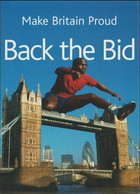 Great Britain Postcard Back The Bid London2012 Candidate City To Host The 2012 Olympics - Mint (G119-95) - Zomer 2012: Londen