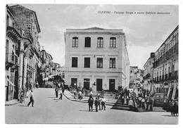 Vizzini (Catania). Palazzo Verga E Nuovo Edificio Scolastico. - Catania