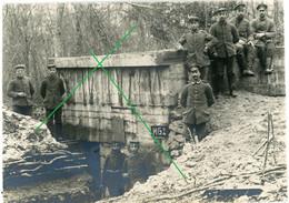 14-18.WWI Photo Allemande - Bunker - MG Stellung (Combres?) Billy? - Sin Clasificación
