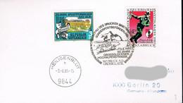 Österreich Brief Mit Sonderstempel - 50 Jahre Grossglockner Hochalpenstrasse - Sonderpostbeförderung - 1981-90 Cartas