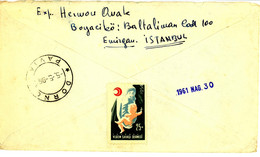 Turkey Cover With Tuberculosis Charity Stamp (471) - Francobolli Di Beneficenza