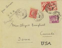 France Airmail Cover To USA (473) - Briefe U. Dokumente