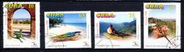 CUBA 1998, Yv. 3743/6, Tourisme, Lézards, 4 Valeurs, Oblitérés / Used. R1149 - Other
