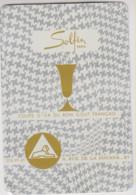 CALENDRIER - SOLFIN - COUPE D'OR DU BON GOUT FRANCAIS - 1969 - Small : 1961-70