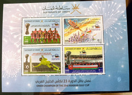 Oman 2018 Champion Of The Gulf Cup Nations MNH Football Theme - Oman