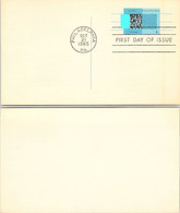 USA - STATIONERY 4c US POSTAGE  - FDC - PHILADELPHIA OCT.21.1965  / 2 - Sin Clasificación