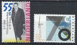 Pays-Bas YT 1257 + 1272 Neuf Sans Charnière - XX - MNH - Unused Stamps