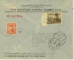 Egypt 1950 Censor Cover To USA (496) - Cartas