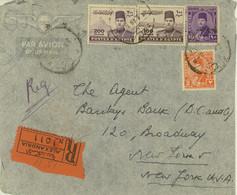 Egypt 1946 Registered Cover To USA (497) - Cartas
