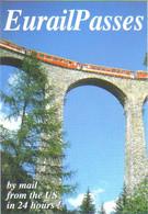 "Carte Postale édition ""Promocartes"" - EurailPasses (train Sur Un Viaduc) - Werbepostkarten"