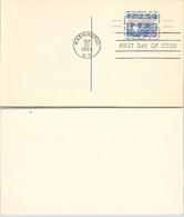 USA - STATIONERY 4c US  POSTAGE SOCIAL SECURITY - FDC WASHINGTON SEP.26.1964    / 2 - Sin Clasificación