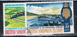 SOLOMON IS. JA132 - 1967 Guadakcanal Set Used - Isole Salomone (...-1978)
