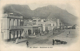 CPA Afrique > Algérie Oran Boulevard Du Sud - Oran