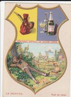Chromo Liebig Blason - Le Peintre - Liebig