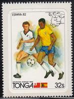 Tonga 1982 MH Sc #509 32s Soccer Players World Cup 1982 - Tonga (1970-...)