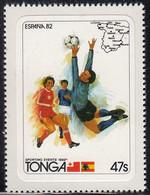 Tonga 1982 MH Sc #510 47s Soccer Players World Cup 1982 - Tonga (1970-...)