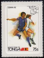 Tonga 1982 MH Sc #511 75s Soccer Players World Cup 1982 - Tonga (1970-...)