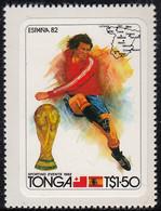 Tonga 1982 MH Sc #512 1.50pa Soccer Players World Cup 1982 - Tonga (1970-...)