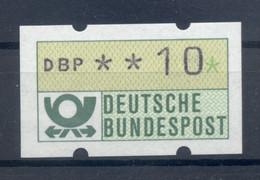 Allemagne  1981 - Michel N. 1.1.h.u - Timbre De Distributeur 10 Pf. (Y & T N. 1) - Distribuidores