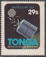 Tonga 1983 MH Sc #545 29s Intelsat IV International Communicatons Year - Tonga (1970-...)