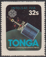 Tonga 1983 MH Sc #546 32s Intelsat IVA International Communicatons Year - Tonga (1970-...)