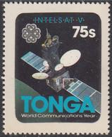 Tonga 1983 MH Sc #547 75s Intelsat V International Communicatons Year - Tonga (1970-...)