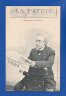 PUB Journal LA PATRIE Dos Simple = CPA DECOLLEE A 20% Dommage SINON Très Très Bon état = Ti 275 - Werbepostkarten