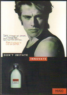 "Carte Postale édition ""Promocartes"" - Hugo Boss (parfum) Don't Imite, Innovate - Werbepostkarten"
