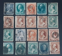 USA CLASSİC STAMPS LOT COLLECTİON - Gebraucht