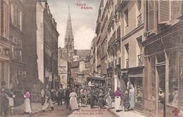 CPA - Tout Paris - Rue De Belleville à La Hauteur De La Rue Des Fêtes - District 19