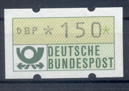 Allemagne  1981 - Michel N. 1.1.h.u - Timbre De Distributeur 150 Pf. (Y & T N. 1) - Distribuidores