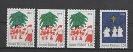 (S2161) FINLAND, 1993 (Christmas). Complete Set. Mi ## 1233 A, Do, Du -1234 A. MNH** - Nuevos