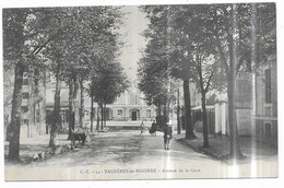 Bagnères De Bigorre Avenue De La Gare - Bagneres De Bigorre