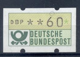 Allemagne  1981 - Michel N. 1.1.h.u - Timbre De Distributeur 60 Pf. (Y & T N. 1) - Distribuidores