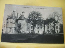 23 7259 RARE CPA 1915 - 23 CHATEAU DE L'AGE AU SEIGNEUR, PRES LE GRAND-BOURG - Altri Comuni