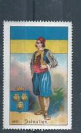 Austria - Dalmatia - Vignette - Poster Stamp - Otros