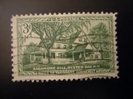 United States, 1953, ROOSEVELT SAGAMORE HILL, Used - Gebraucht