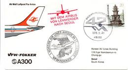 Lemwerder NL Seoul 1978 - Airbus A-300  - KAL - Erstflug 1er Vol Flight - Livraison Sortie D'usine - Korea, South