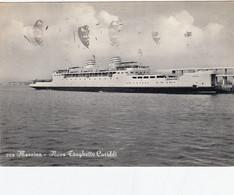 MESSINA-NUOVO TRAGHETTO=CARIDDI=- CARTOLINA VIAGGIATA IL10-10-1956 - Messina