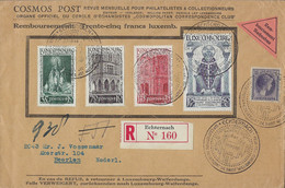 Luxembourg  -  Luxemburg    Lettre  Recommandé   1938   Echternach  -  Heerlen ( Nederl. ) - Used Stamps