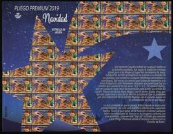 ESPAGNE SPANIEN SPAIN ESPAÑA 2019 CHRISTMAS NAVIDAD P PANE 12V ED 5353A YT 5104A MI 5401 - 2011-... Nuevos & Fijasellos