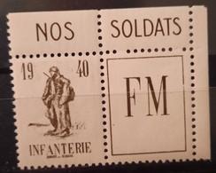 France FM 10A ** TB - Militärpostmarken