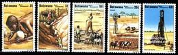 (059) Botswana  Water Supply / Eau / Wasser  ** / Mnh  Michel 225-229 - Botswana (1966-...)