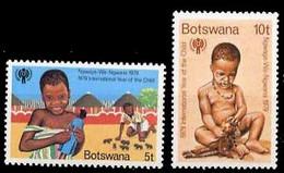 (063) Botswana  Children / Enfants / Kinder  ** / Mnh  Michel 237-238 - Botswana (1966-...)