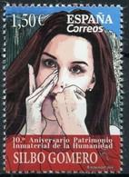 ESPAGNE SPANIEN SPAIN ESPAÑA 2019 10º ANIV HUMAN HERITAGE CANARIAN GOMERO WHISTLE SILBO MNH ED 5360 YT 5111 MI 5407 - 2011-... Nuevos & Fijasellos