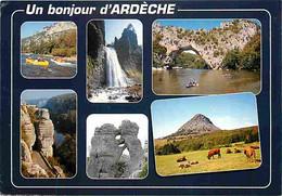 07 - Ardèche - Multivues - Vaches - CPM - Voir Scans Recto-Verso - Andere Gemeenten