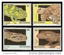 (065) Botswana  1980  Animals / Animaux / Tiere / Dieren / Reptiles  ** / Mnh  Michel 243-46 - Botswana (1966-...)