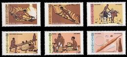 (066) Botswana  Bergbau / Mining / Mines  ** / Mnh  Michel 247-252 - Botswana (1966-...)