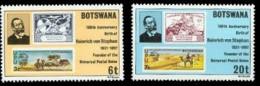 (070) Botswana  1981  UPU / Stephan  / Stamp On Stamp / Timbre Sur Timbre  ** / Mnh  Michel 262-63 - Botswana (1966-...)
