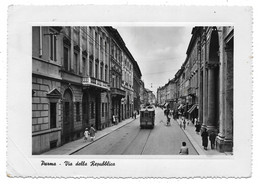 Parma - Via Della Repubblica - Tram. - Parma